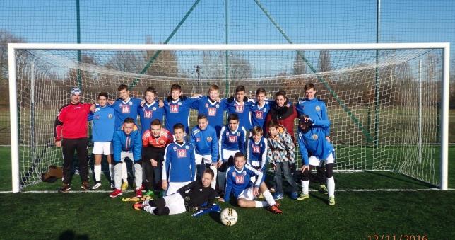 Juniorzy młodsi Stoczniowca wygrali I Ligę POZPN U-16